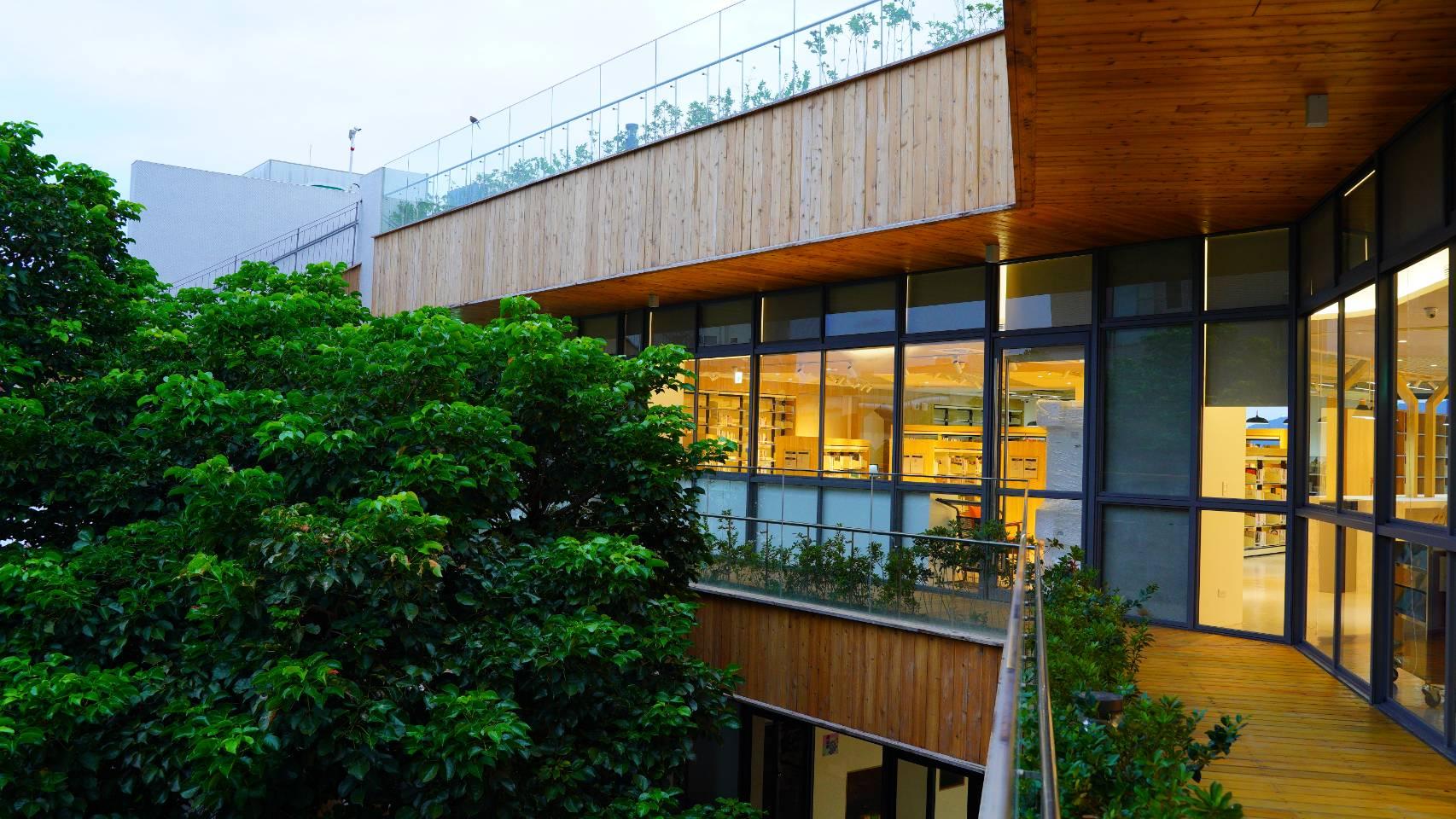 林口西林圖書閱覽室-陽台