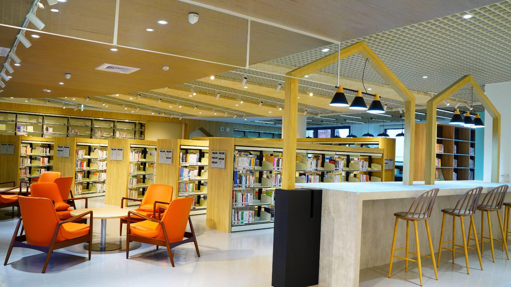 林口西林圖書閱覽室-樂齡閱讀區