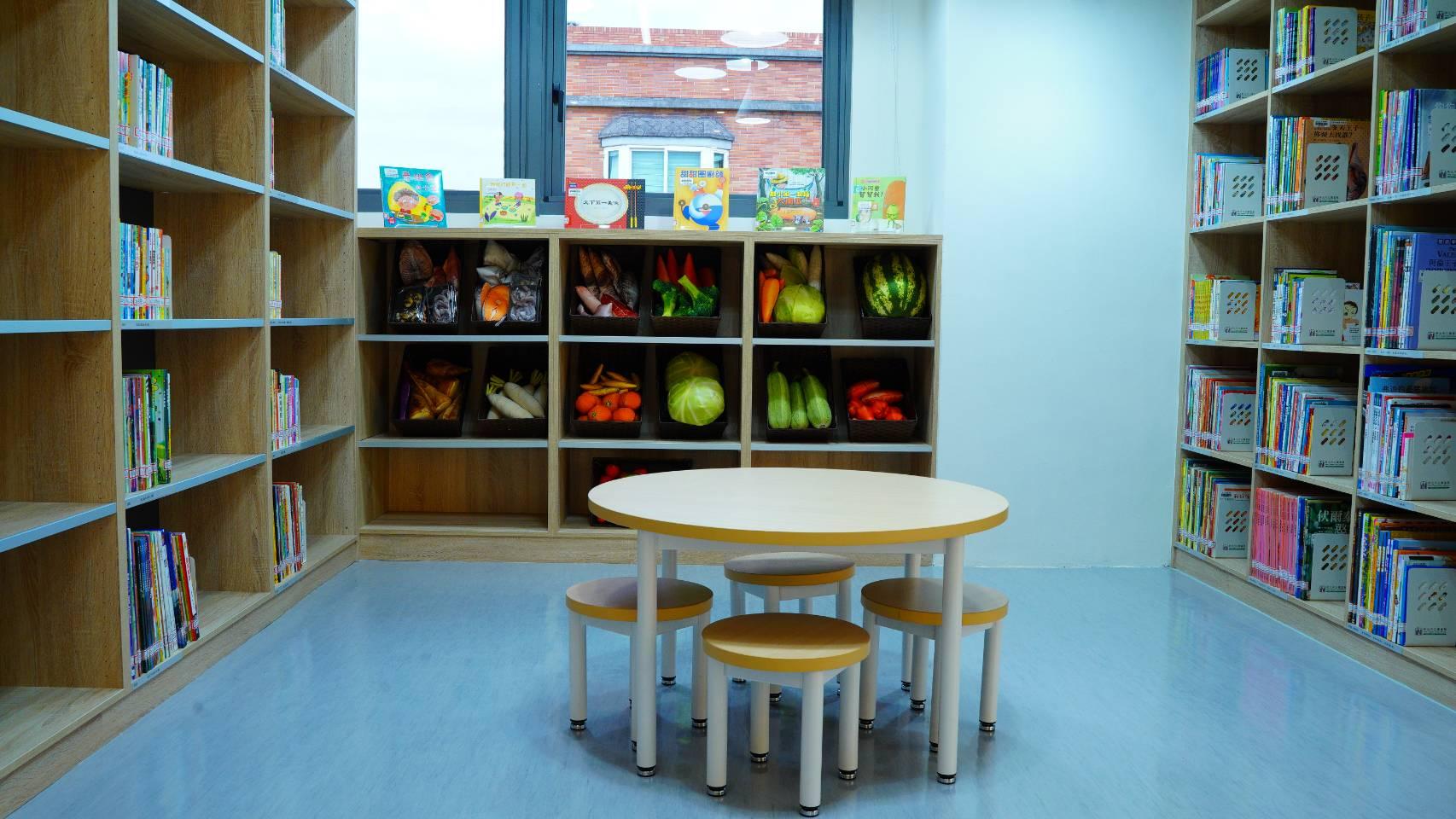 林口西林圖書閱覽室-兒童書庫區
