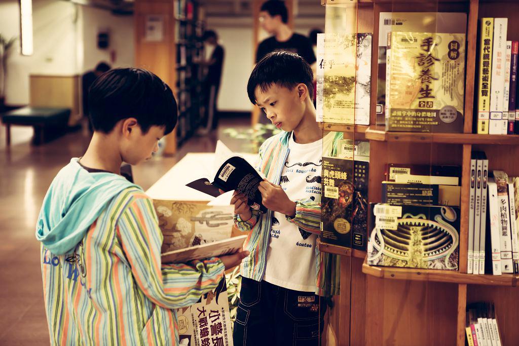 蘆洲永平分館-兒童閱讀